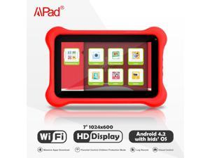 "Apad 7"" Tablet PC Android 4.2 8G Wifi Cloud Service Dual Camera Tablet PC for 2-12yr Kids"