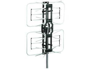 Esky HG-996 HDTV Outdoor Amplified Antenna 35dB Rotor Remote 360° UHF/VHF/FM 160 Miles