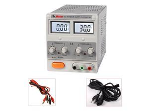 Dr.Meter Single-Output DC Power Supply HY3003D 30V 3A AC Power Cable Included