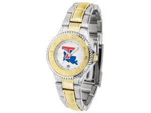 Louisiana Tech Bulldogs LADIES COMPETITOR TWO TONE Watch by Suntime - OEM
