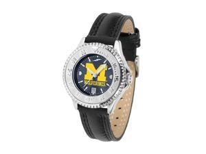 Michigan Wolverines LADIES COMPETITOR ANOCHROME Watch by Suntime - OEM
