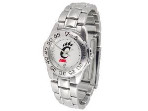 Cincinnati Bearcats LADIES SPORT STEEL Watch by Suntime - OEM