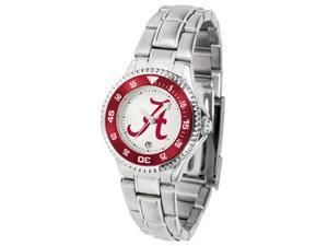 Alabama Crimson Tide LADIES COMPETITOR STEEL Watch by Suntime - OEM