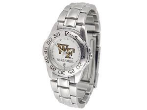 Wake Forest Demon Deacons LADIES SPORT STEEL Watch by Suntime - OEM
