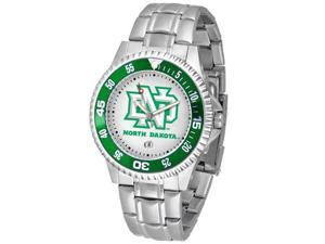 North Dakota Fighting Sioux COMPETITOR STEEL Watch by Suntime - OEM
