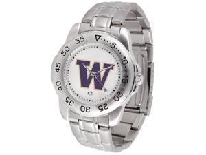 Washington Huskies SPORT STEEL Watch by Suntime - OEM