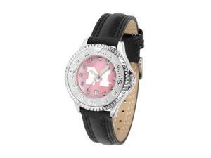 Michigan Wolverines LADIES COMPETITOR MOTHER OF PEARL Watch by Suntime - OEM