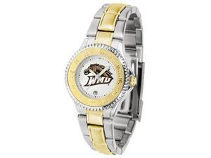 Western Michigan Broncos LADIES COMPETITOR TWO TONE Watch by Suntime - OEM