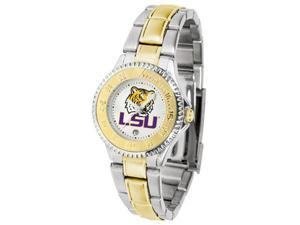 LSU Tigers LADIES COMPETITOR TWO TONE Watch by Suntime - OEM