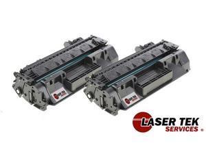 Laser Tek Services Toner Cartridges for HP CF280X / LaserJet Pro 400 M401dn / LaserJet Pro 400 M401dw (2-Pack)