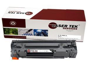 Laser Tek Services® Compatible CE285A High Yield Toner Cartridge for HP P1102 M1212 M1217nfw