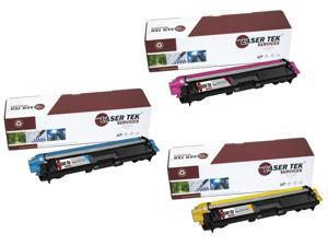 Laser Tek Services® Brother TN221 / TN225 3 Pack Compatible Replacement Toner Cartridges (1C, 1M, 1Y)