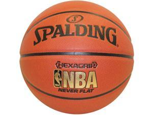Spalding Nba Hexagrip Soft Grip Neverflat Basketball