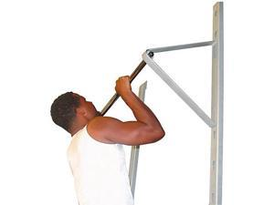 Sports Supply Wall Mounted Adjustable Pull Up Bar