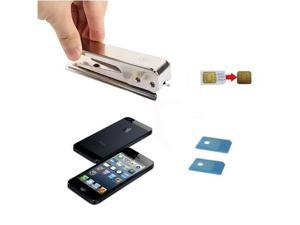 iPhone 5 5G Nano SIM Card Cutter Cut Convert Regular & Micro SIM to Nano SIM