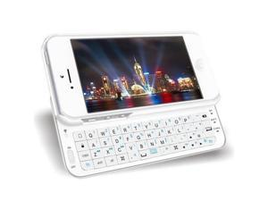 Bluetooth Wireless Backlighted Ultra-thin Slide Out Keyboard Case Cover For The New Apple iPhone 5