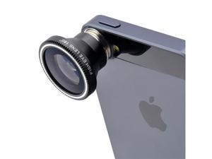 180 Degree Fisheye Lens for Apple iPad iPhone 3GS 4 4S 5 5S 5C HTC Samsung Smartphones
