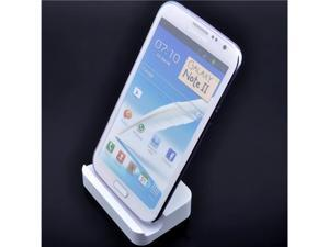 USB Sync Cradle Battery Charger Dock Desktop Charger for Samsung Galaxy Note 2 II N7100 S3 i9300 - White