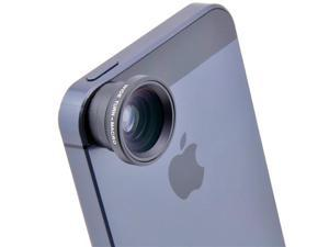 2in1 Wide Angle Macro Lens for iPhone5 4 4S iPod HTC EVO 3D 4G i9100 - Black / Silver/ Red/ Yellow