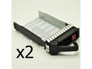 "2 pcs 3.5"" SATA SAS Hard Drive Tray Caddy for HP Compaq ProLiant DL160 G5 G5p G6 DL165 G5 DL180 G5 G6"