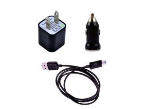USB Data Sync Charge Charging Cable+AC Charger+Car Charger Set for Kindle 2 3 Kindle Fire HD