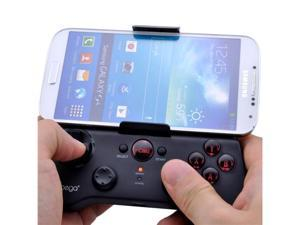 Patazon Wireless Bluetooth Game Gaming Controller for iPhone 5S/5C/5/4S/4/Samsung Galaxy S4/i9500/Note 3/Note 2 (Black) - OEM