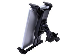 Black Universal Tablet Holder Adapter Mount Music Clamp Micro Microphone Stand for HP Touchpad