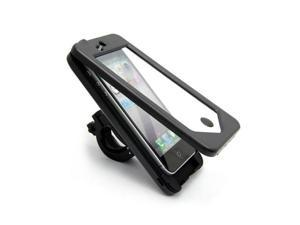 Waterproof Shock-Protected ABS Case Cover with Bike Handlebar Mount Holder for Apple iPhone 5 5G