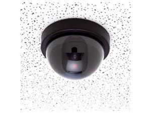 New Fake Dummy Dome Security Camera with Red Flashing Light Imitation Surveillance Camera - OEM