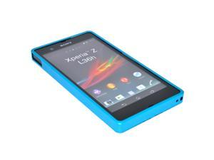 New Blue Aluminum Alloy Blade Metal Bumper Case Cover For Sony Xperia Z L36h L36i