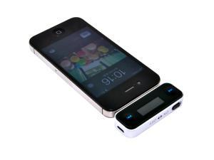 Wireless Rechargeable FM Transmitter Car Audio for iPhone 4S/ 5/ 5S/ 5C, Samsung Galaxy S3/ S4/ Note 2/ Note 3 HTC One M7 ...