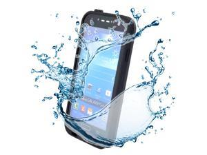 Waterproof Shockproof Dirt Snow Proof Case Cover for Samsung Galaxy S4 SIV i9500 - Black