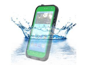 Waterproof Shockproof Dirt Snow Proof Case Cover for Samsung Galaxy S4 SIV i9500 - Green