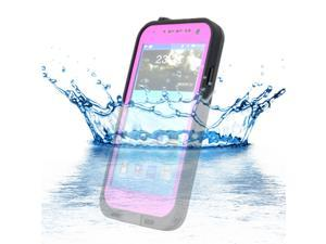 Waterproof Shockproof Dirt Snow Proof Case Cover for Samsung Galaxy S4 SIV i9500 - Pink