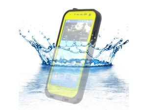 Waterproof Shockproof Dirt Snow Proof Case Cover for Samsung Galaxy S4 SIV i9500 - Yellow