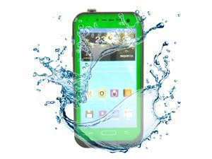 Green Waterproof Dirtproof ShockProof Silicone Gel Touch Screen Case Cover For Samsung Galaxy S4 SIV i9500