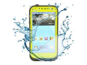 Yellow Waterproof Dirtproof ShockProof Silicone Gel Touch Screen Case Cover For Samsung Galaxy S4 SIV i9500