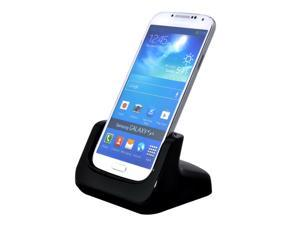 USB Cradle Dock Desktop Charger for Samsung Galaxy S4 Active I9295 with Audio Out