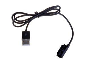 Magnetic Charger Adapter with USB 2.0 Cable For Sony Xperia Z1 L39h / Xperia Z Ultra XL39h Black