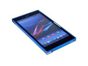 NEW Metal Aluminum Frame Hard Case Bumper Cover for Sony Xperia Z Ultra XL39h - Blue