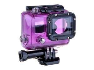 Underwater Waterproof Shockproof Snowproof Dirtproof Camera Case Housing+Lens+Buckle for GoPro HD HERO 3 