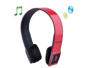Red Bluetooth 3.0 Music Stereo Earphone Headset Headphone with Microphone for Mobile Devices - OEM