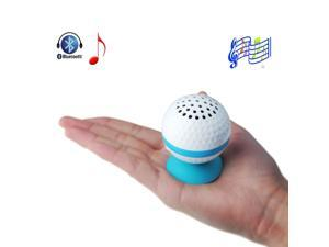 Blue Wireless Golf Ball Shape Hand-free Bluetooth Stereo Speaker for iPhone 5S 5C 5 4S 4 3GS 3G iPad 1 2 3 4 iPad Mini iPod ... - OEM