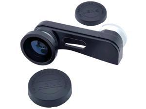 3 in1 Fisheye Lens + Wide Angle + Micro Lens photo Kit Set for iPhone 5S 5G 5 - Silver