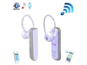 Patazon Wireless Bluetooth 4.0 In-Ear Stereo Music Headset Headphones Earphone Handsfree (White) - OEM