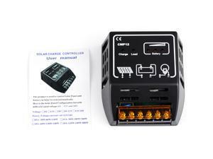 New 10A 12V/24V Solar Panel Charge Charging Controller Control Regulator Panel Battery Regulator Safe Protection
