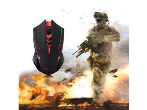 New USB 7 Buttons 2.4GHz Wireless Game Gaming Optical Mouse 500/1000/1500/2000 DPI for PC Laptop Desktop Notebook