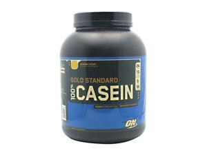 Gold Standard 100% Casein, Banana Cream, 4 lbs, From Optimum Nutrition