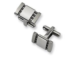 Stainless Steel Cuff Links. Metal Weight- 11.43g
