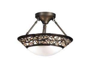 Dale Tiffany Cyprus Oaks Semi Flush Mount - TH12320